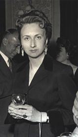La mère de S. Joukhadar, Mme Claire Joukhadar, 1950