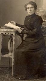 L'arrière grand-mère de S. Joukhadar, Mme d'Orléans, Fin 19ème siècle.