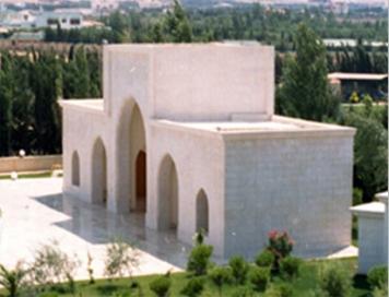 """""""Iwan"""" - Architecture de Suleiman Joukhadar, fondée sur la proportion dorée."""